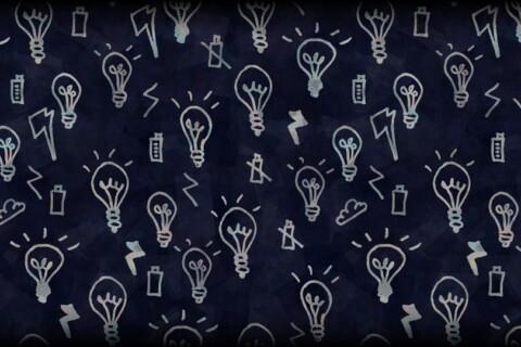 Light Bulb Hand Drawn Tech Technology Doodle