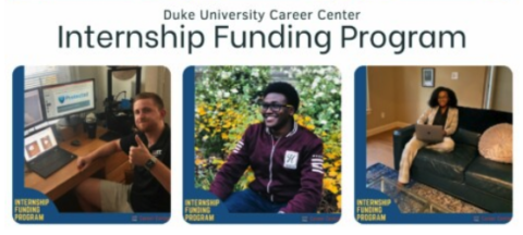 Duke Career Center Internship Funding Program