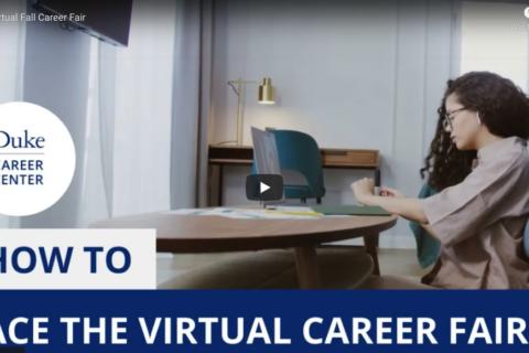 How to Ace the Virtual Career Fair.