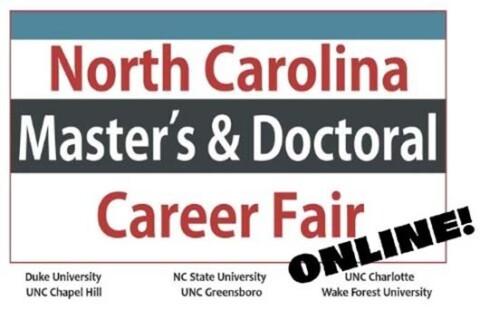 NC Master's & Doctoral Career Fair-Online.